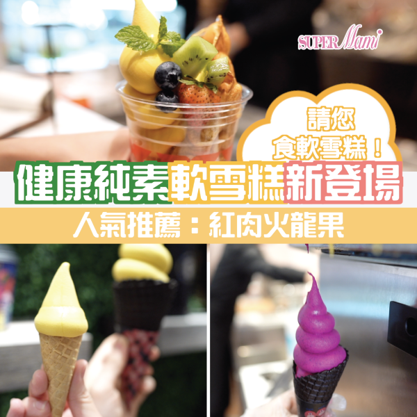 【純素雪糕】依加請您食純素鮮果軟雪糕